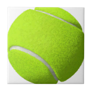 Tennis Ball Ceramic Tile