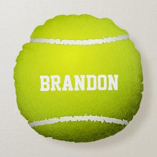 Tennis Ball Design Round Pillow Round Cushion