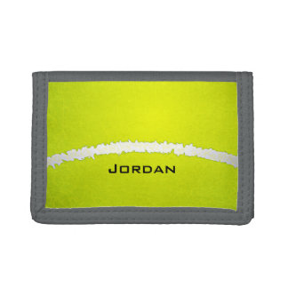 Tennis Ball  Design Wallet