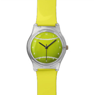 Tennis Ball Design Watch
