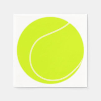 Tennis Ball Disposable Napkin