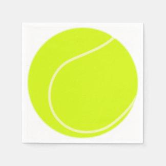Tennis Ball Disposable Serviettes