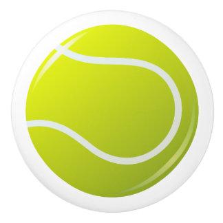 Tennis ball door knob