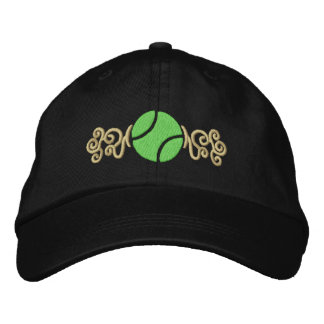 Tennis Ball Embroidered Cap