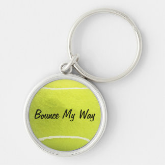 Tennis Ball Key Chain - Personalized