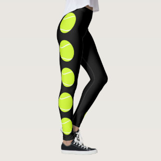 Tennis Ball Leggings Compression Pants