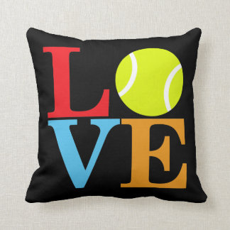 Tennis Ball LOVE Cushion