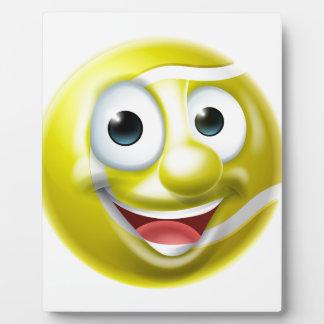 Tennis Ball Man Cartoon Character Plaque