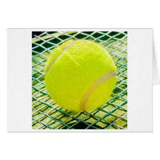 Tennis Ball Notecards Card