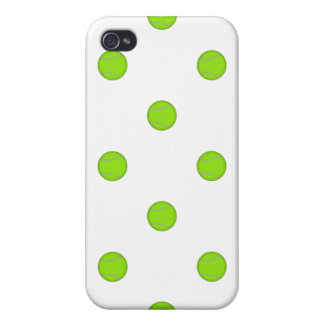 Tennis Ball Pattern: Cover For iPhone 4