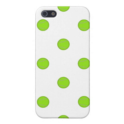 Tennis Ball Pattern: Case For iPhone 5