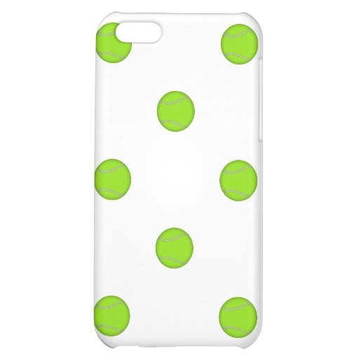 Tennis Ball Pattern: Cover For iPhone 5C
