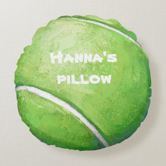 Tennis Ball Personalised Pet Bed Pillow
