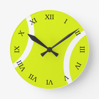 Tennis Ball Round Clock