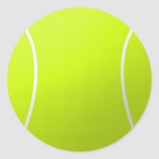 Tennis Ball Round Stickers for Decoration/Parties