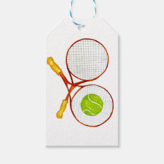 Tennis Ball Sketch2 Gift Tags