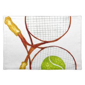 Tennis Ball Sketch2 Placemat