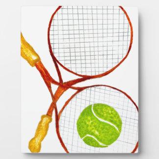 Tennis Ball Sketch2 Plaque