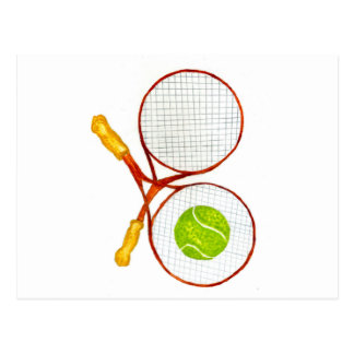 Tennis Ball Sketch2 Postcard