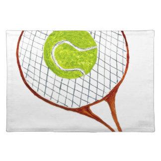 Tennis Ball Sketch3 Placemat
