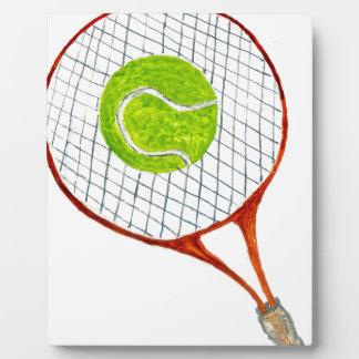 Tennis Ball Sketch3 Plaque