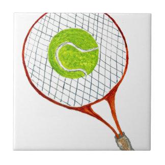 Tennis Ball Sketch3 Tile