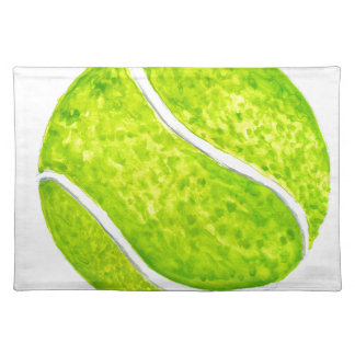 Tennis Ball Sketch4 Placemat