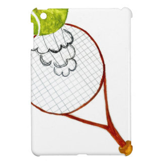 Tennis Ball Sketch iPad Mini Cover