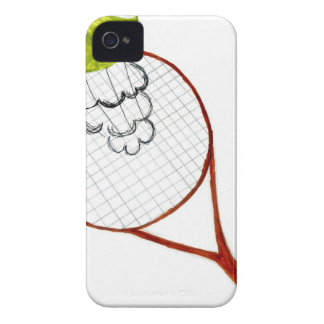Tennis Ball Sketch iPhone 4 Case