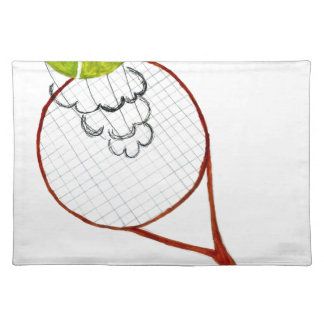 Tennis Ball Sketch Placemat