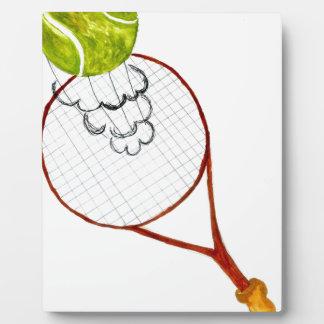 Tennis Ball Sketch Plaque