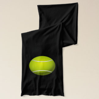 Tennis Ball Sport Peace Love Party Destiny Digital Scarf
