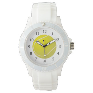 Tennis ball sports wrist watch