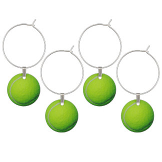 Tennis Ball Theme Adult Party Ideas Wine Charm