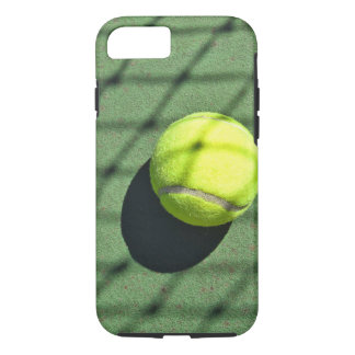 tennis ball with net shadow iPhone 8/7 case