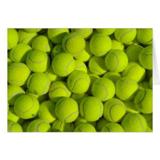 Tennis Balls Card