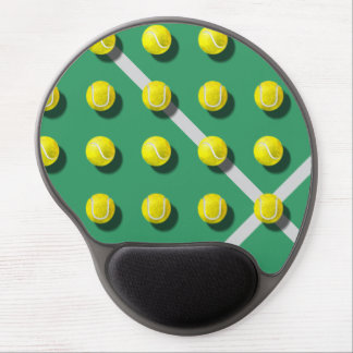 Tennis balls gel mouse pad
