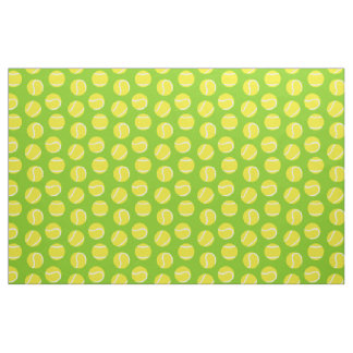 Tennis balls green sports fabric pattern