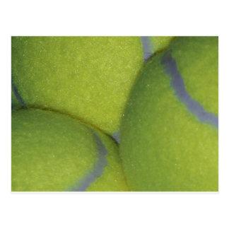 Tennis Balls Postcard