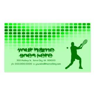 tennis beats Double-Sided standard business cards (Pack of 100)