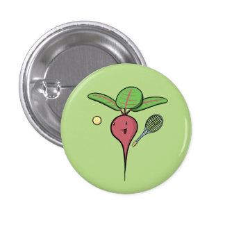 Tennis Beet 3 Cm Round Badge