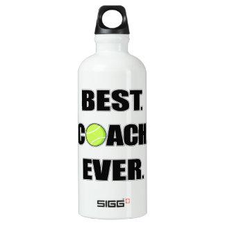 Tennis Best Coach Ever Water Bottle