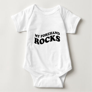 Tennis bodysuit. Cute creepers for boy and girls Baby Bodysuit