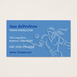 Tennis Business Card