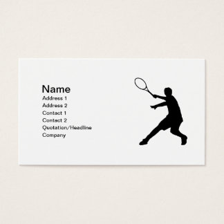 Tennis business cards | Customizable design