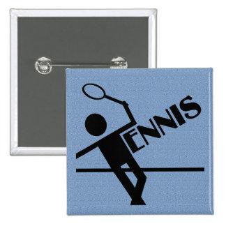 Tennis button, customize