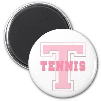 Tennis Button Fridge Magnet