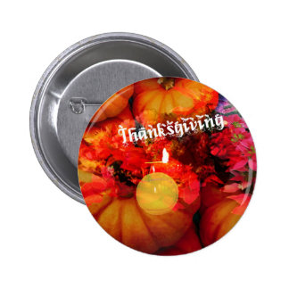 Tennis , candle and pumpkins 6 cm round badge
