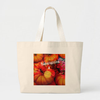 Tennis , candle and pumpkins jumbo tote bag