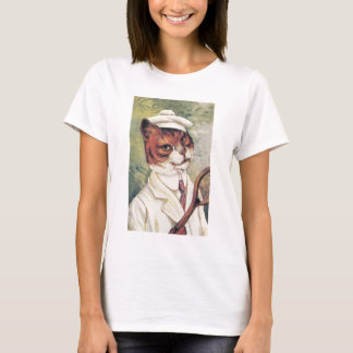 Tennis cat T-Shirt